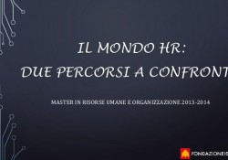 percorsi HR a confronto