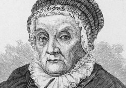 Portrait of astronomer Caroline Herschel