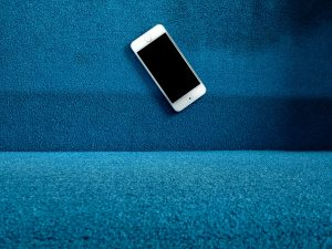 phone on couch, privacy